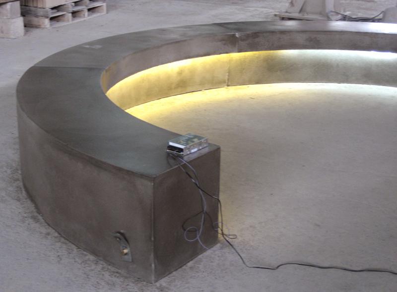 C. modular bench