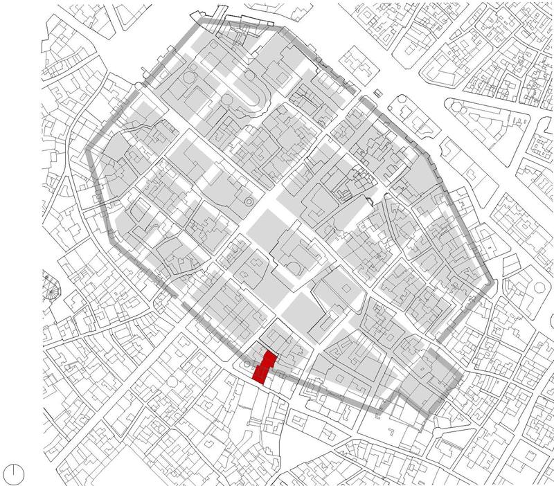 emplaçament amb muralla romana